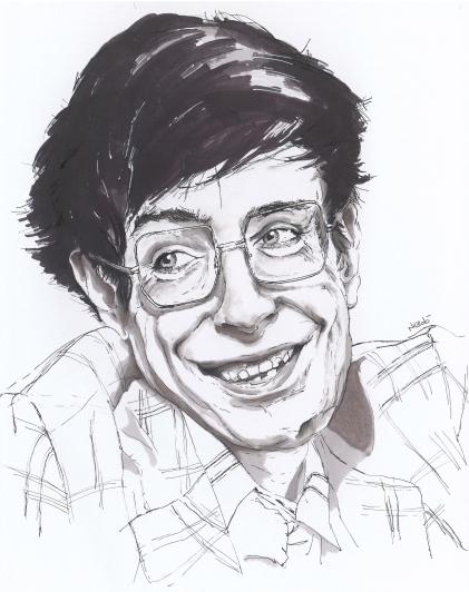 Benghi_stephen_Hawking_portrait